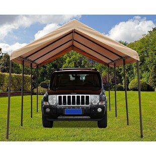 SoraraOutdoorLiving 10 Ft. W x 20 Ft. D Steel Pop-Up Canopy