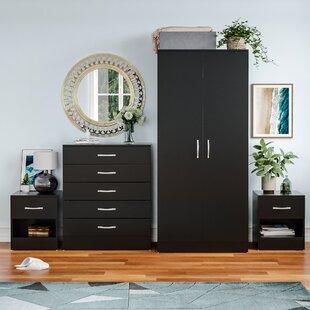 On Sale Audrina 4 Piece Bedroom Set