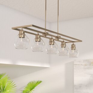 Langley Street Maria 5-Light Kitchen Island Pendant
