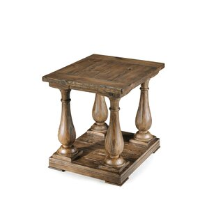 Gladiola Wood End Table