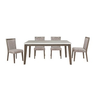 Beldale 5 Piece Dining Set Gracie Oaks