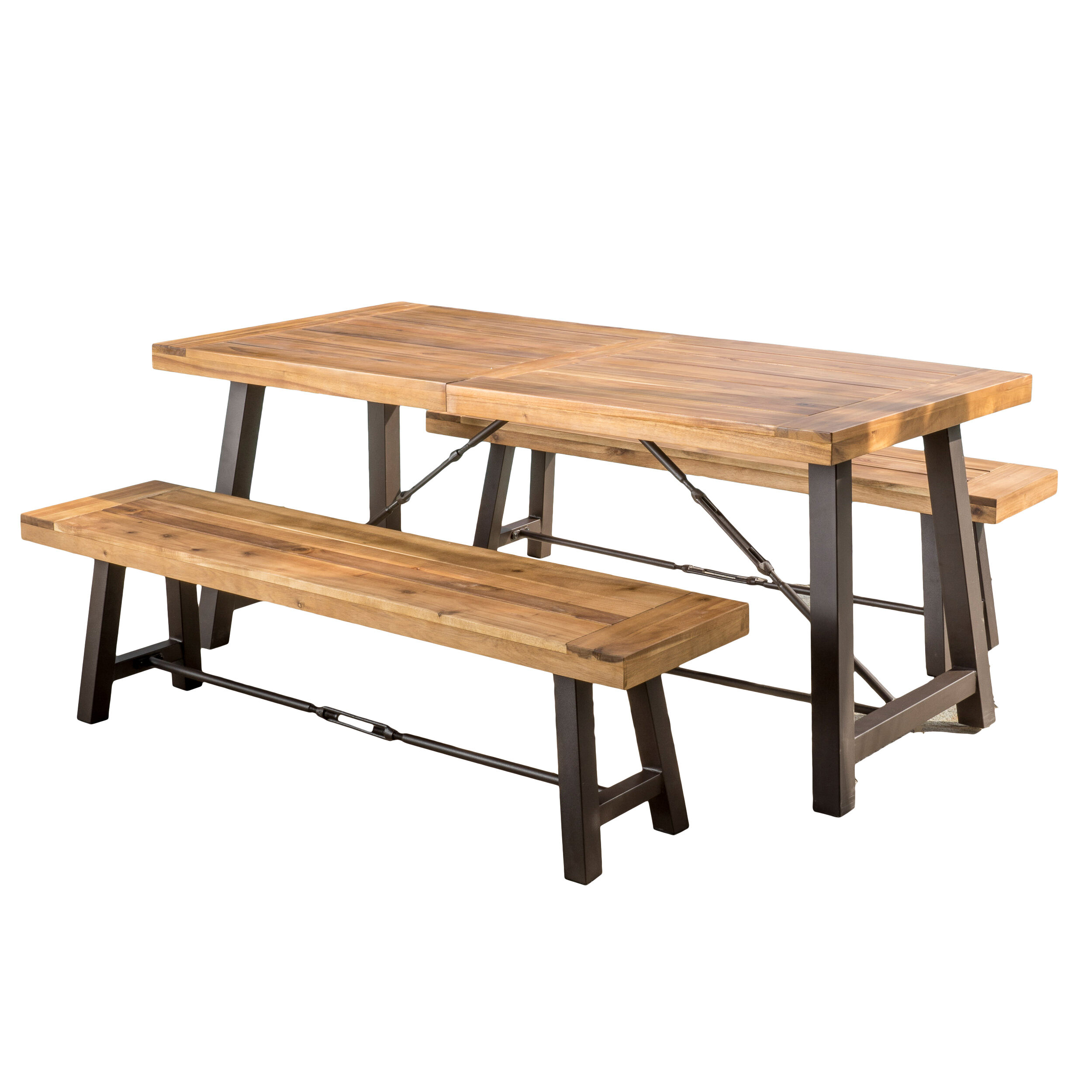 Swell Lebanon 3 Piece Solid Wood Dining Set Gmtry Best Dining Table And Chair Ideas Images Gmtryco