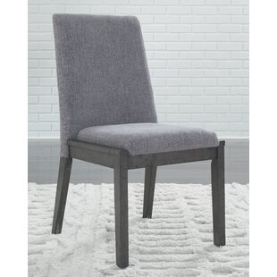 Banach Upholstered Dining Chair (Set of 2) Foundry Select