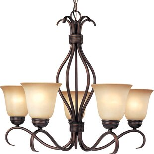 Birdsall 5-Light Shaded Chandelier