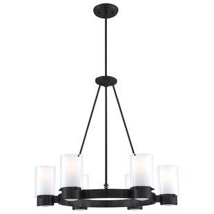 Sontag 6-Light Shaded Chandelier by Latitude Run