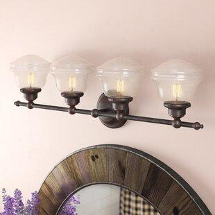 Margaree 4-Light Vanity Light ByLaurel Foundry Modern Farmhouse