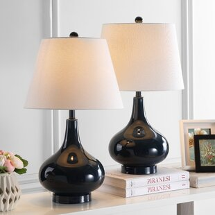 Affordable Heater 24 Table Lamp (Set of 2) By Brayden Studio