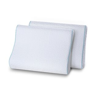 Althoff Dual Sided Contour Memory Foam Standard Pillow (Set of 2)