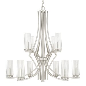 Mollie 10-Light Candle-Style Chandelier