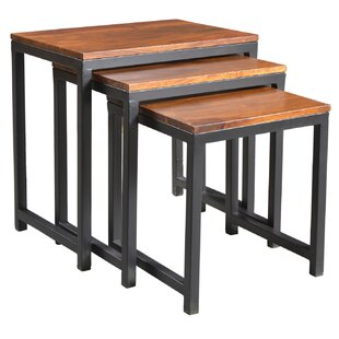 Norita 3 Piece Nesting Tables by Bungalow Rose