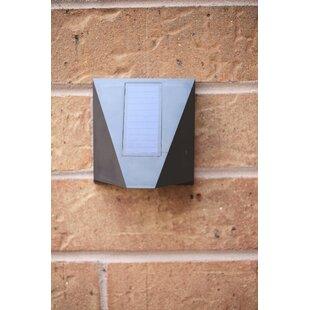 Thibault LED Outdoor Sconce with Motion Sensor by Orren Ellis