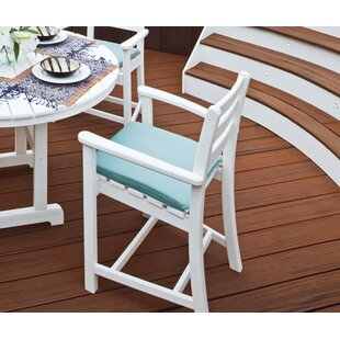 Monterey Bay Patio Bar Stool with Cushion