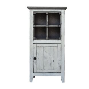 18 W x 36 H x 20 D Solid Wood FreeStanding Bathroom Cabinet by Gracie Oaks