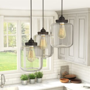 Timnath 3-Light Cluster Pendant by Laurel Foundry Modern Farmhouse