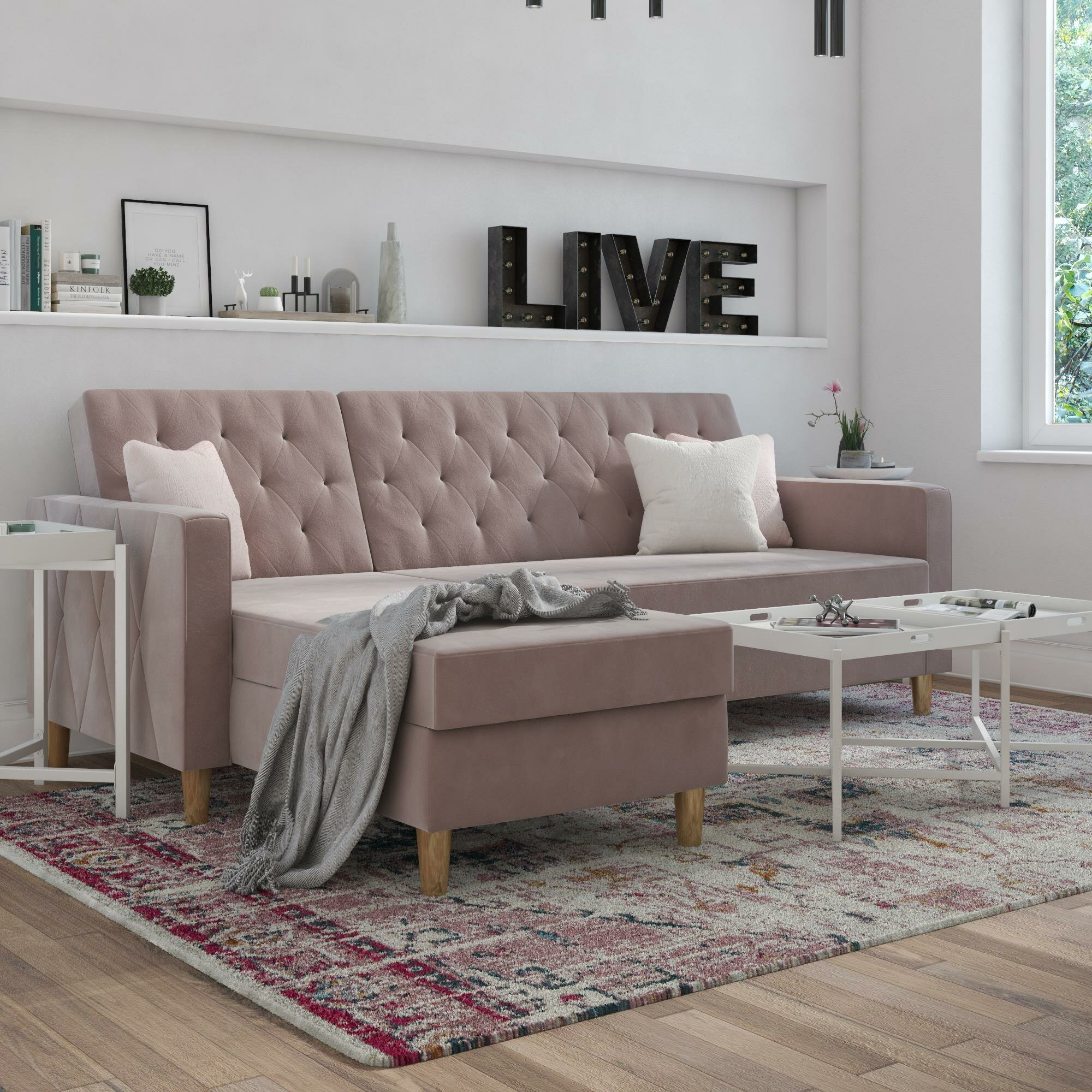 Picture of: Pink Sectionals You Ll Love In 2020 Wayfair