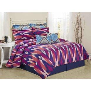 Homechoice International Group Tie-Dye 8 Piece Comforter Set