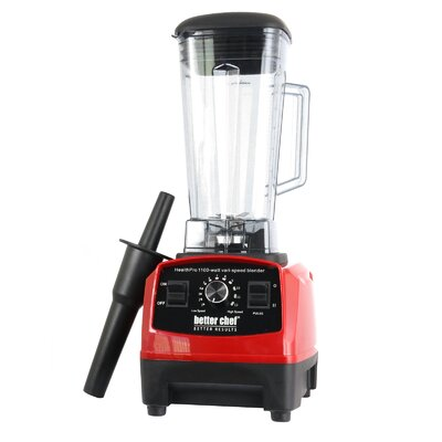 Better Chef  Countertop Blender  Color: Red