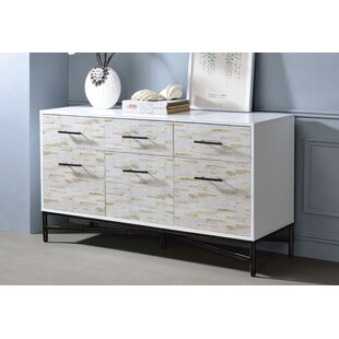 Orizaba 6 Drawer Nightstand