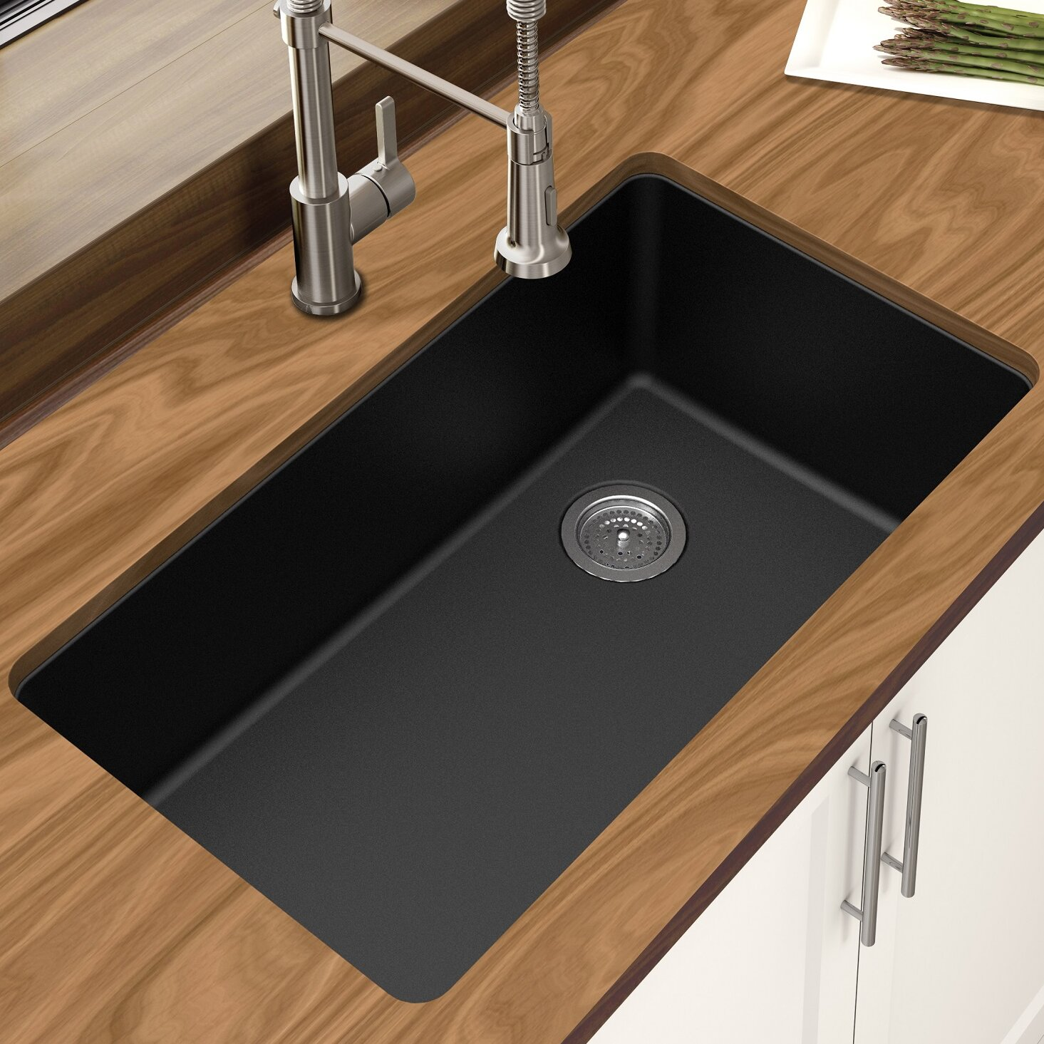 Winpro Granite Quartz 33 L X 18 75 W Single Bowl Undermount Kitchen Sink Reviews Wayfair,Best Bedroom Air Purifier For Mold