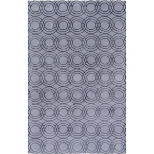 Meader Hand-Tufted Gray Area Rug