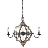Donna 4-Light Candle Style Chandelier