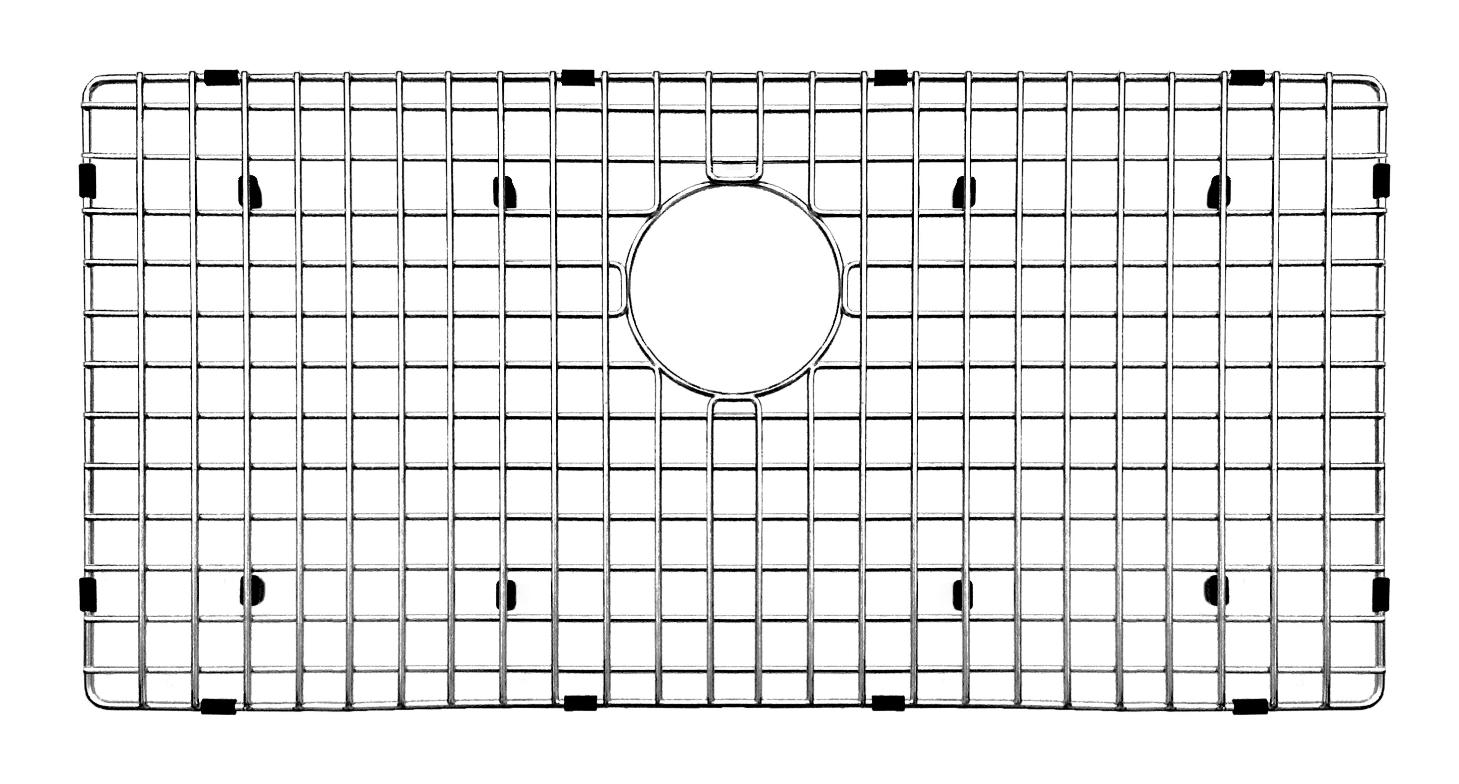 Daweier 30 X 15 Sink Grid Reviews Wayfair