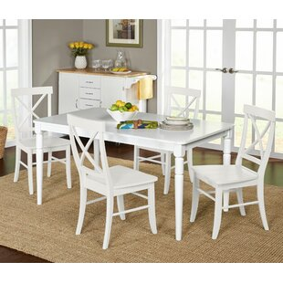 Brookwood 5 Piece Dining Set Beachcrest Home