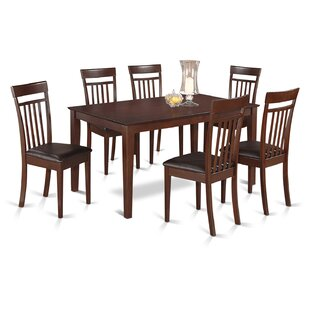 Smyrna 7 Piece Dining Set Charlton Home