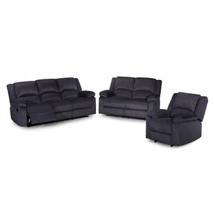 Bhavin 3 Reclining Piece Living Room Set by Red Barrel Studio