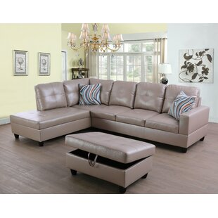 Lefebre Sectional with Ottoman