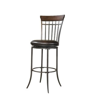 Royalton 26 Swivel Bar Stool Red Barrel Studio