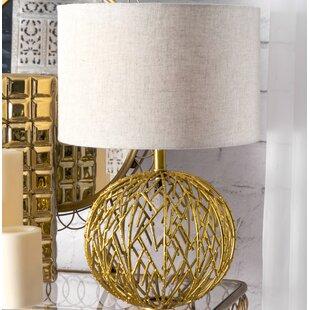 Bargain Olson Modern Lattice Ball 20 Table Lamp By Ivy Bronx