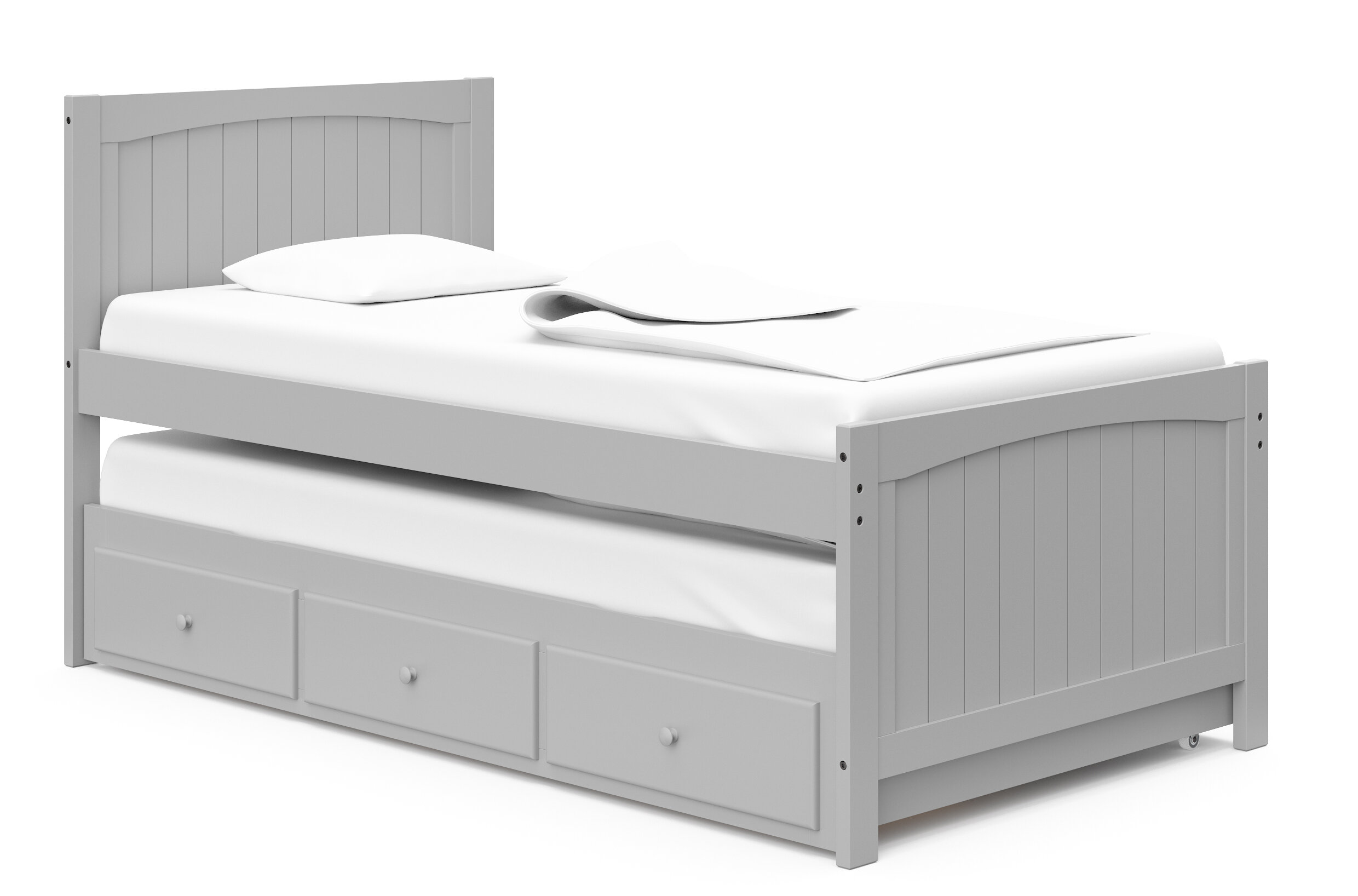 bed for 3 kids