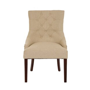 Highvale Tufted Back Fabric Dining Chair ..