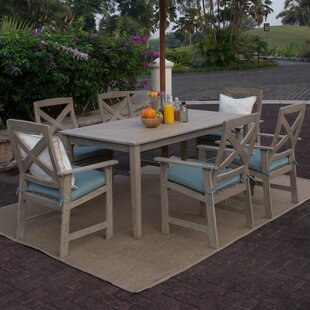 Beachcrest Home Englewood 7 Piece Dining Set