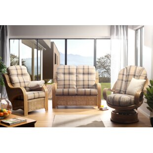Kara 3 Piece Conservatory Sofa Set By Beachcrest Home