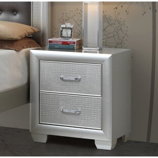 Aguilera 2 Drawer Nightstand