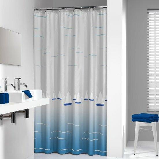 Barca Boat Shower Curtain