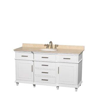 Berkeley 60 Single Bathroom Vanity Set by Wyndham Collection