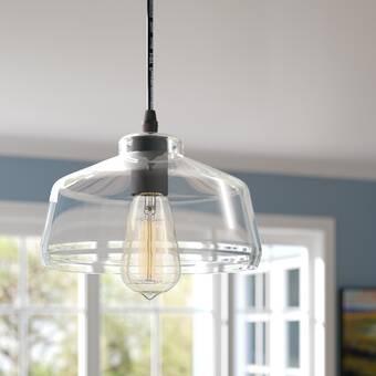Breakwater Bay Alabama 1 Light Single Dome Pendant Reviews Wayfair Ca