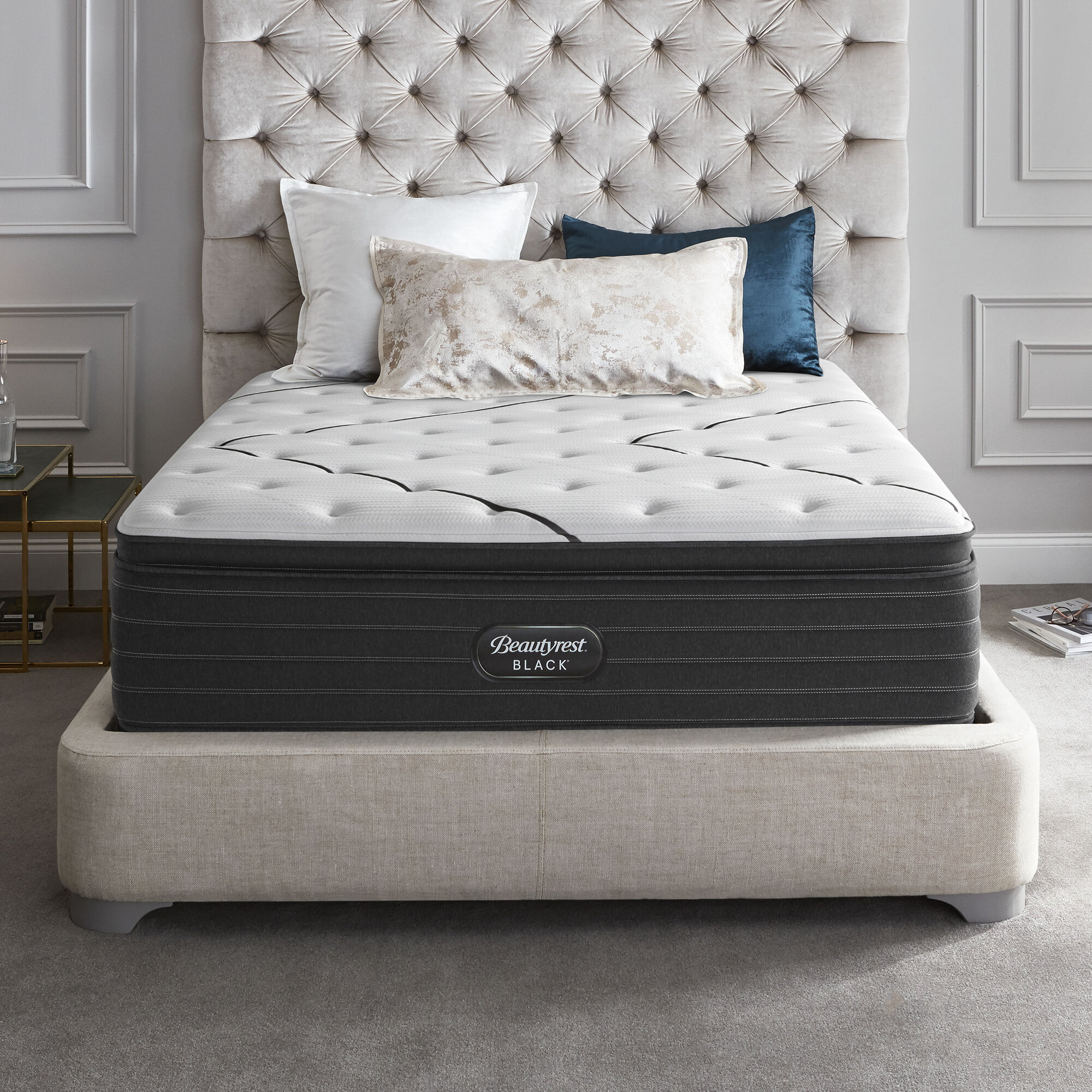 Beautyrest Black 16 Plush Pillow Top Mattress Wayfair