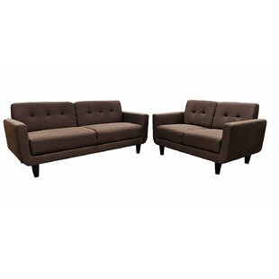 Find for Perna 2 Piece Living Room Set by George Oliver Reviews (2019) & Buyer's Guide