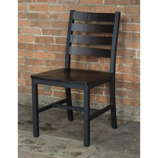 Loft Solid Wood Dining Chair (Set of 2) b..