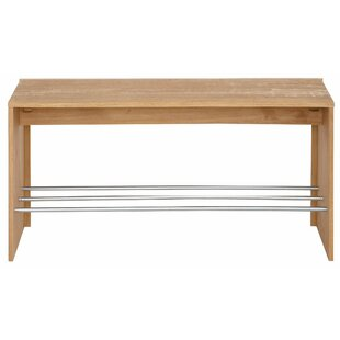 Hawthorne Wood Storage Bench By Ebern Designs