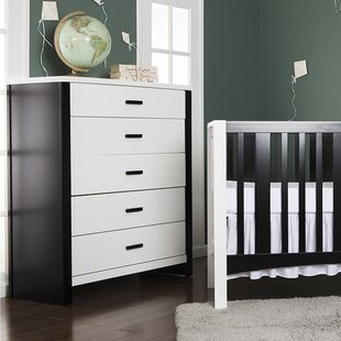 Find Cafeina 5 Drawer Dresser by Dream On Me Reviews (2019) & Buyer's Guide