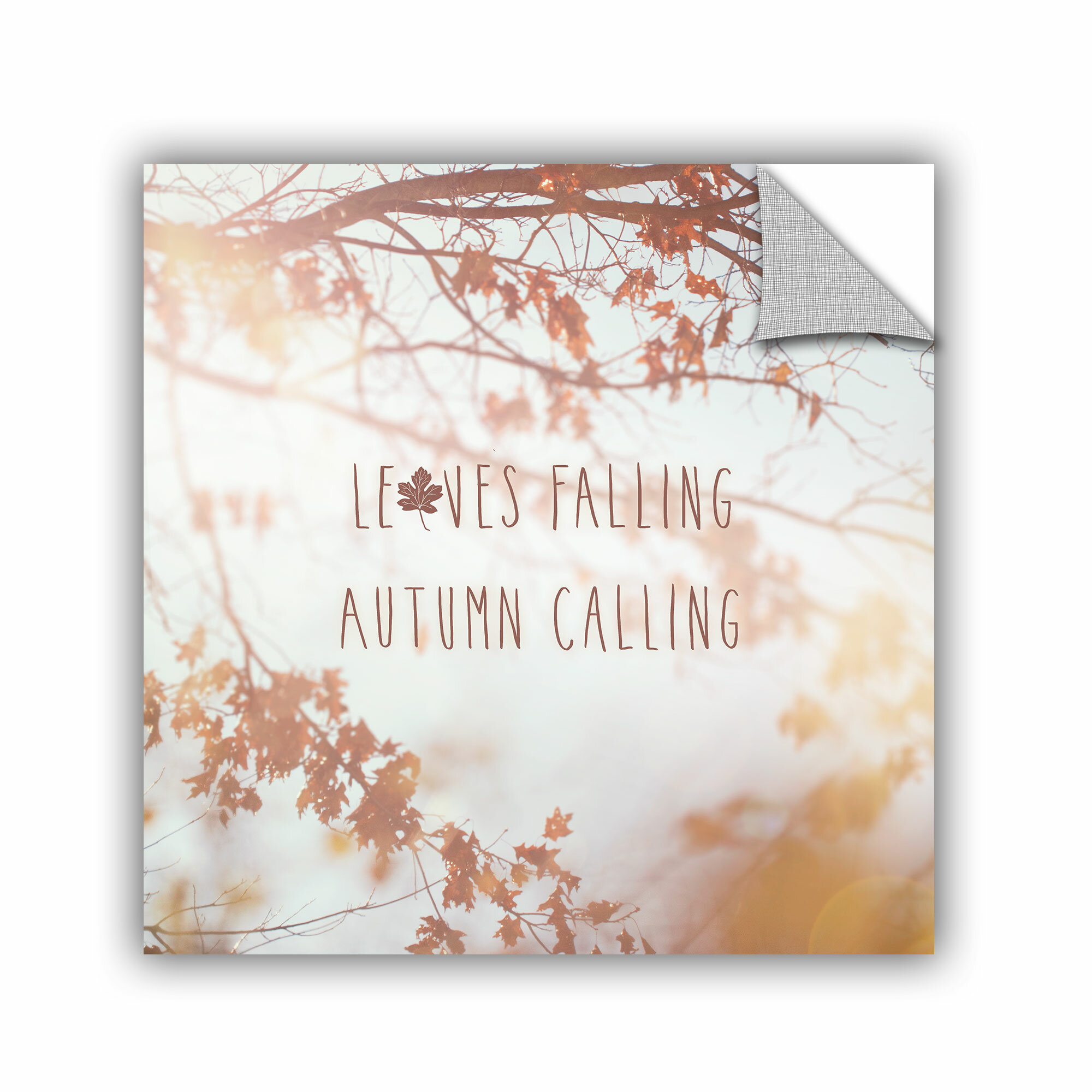 Artwall Laura Marshall Autumn Calling I Wall Decal Wayfair