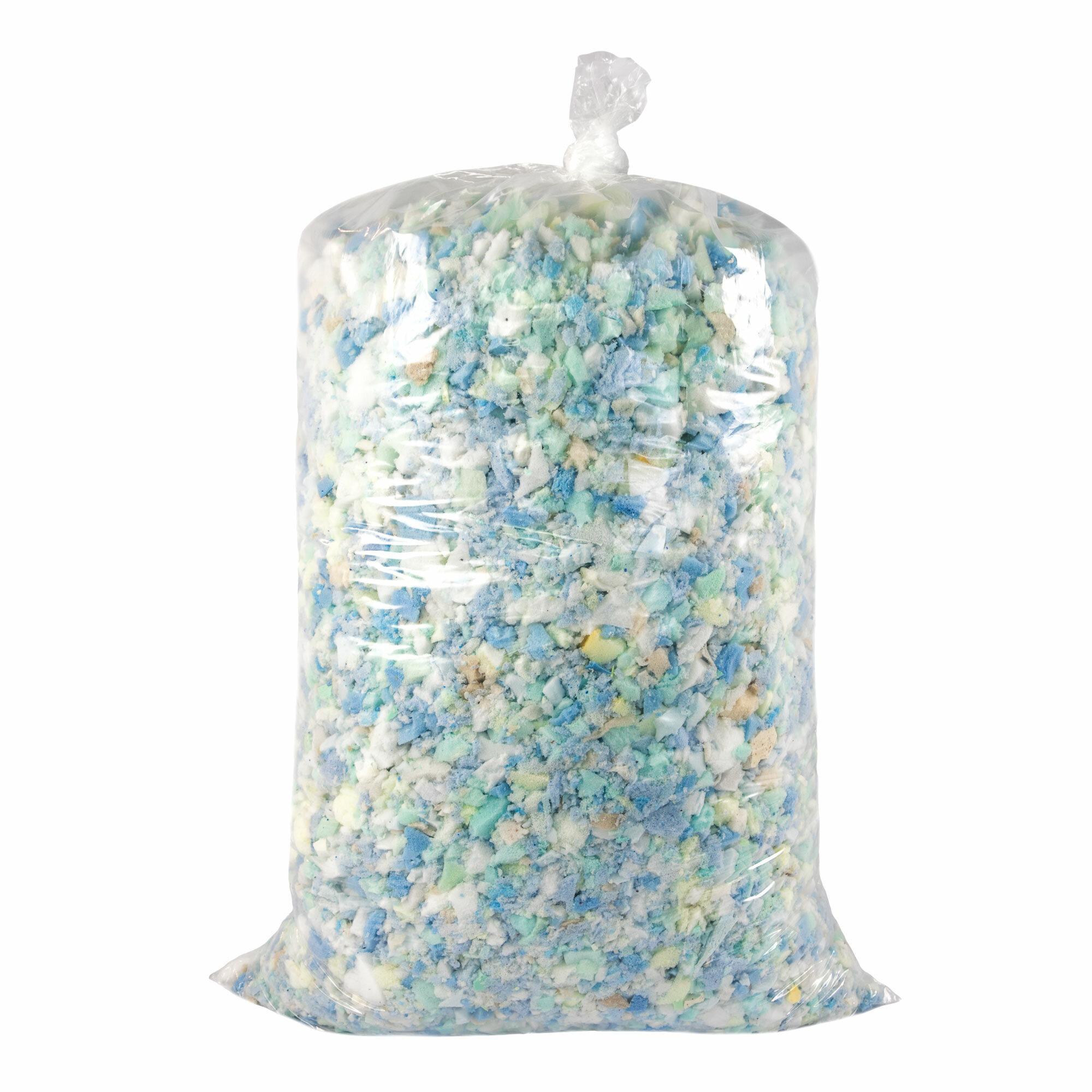 Alwyn Home Shredded Memory Foam Bean Bag Small Replacement Fill Wayfair