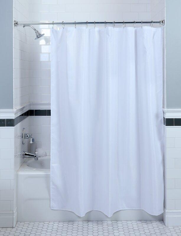 SlipXSolutions Waffle Weave Shower Curtain & Reviews | Wayfair