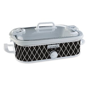 3.5 Qt. Casserole Crock Slow Cooker (Set of 2)