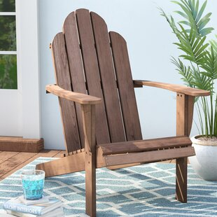 Beachcrest Home Knowlson Solid Wood Adirondack Chair